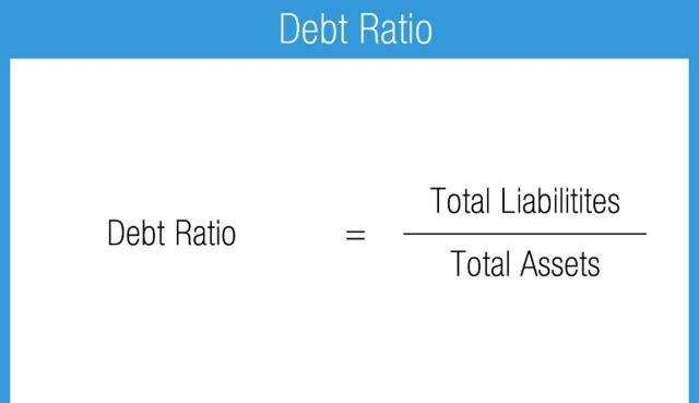 The debt ratio in your life